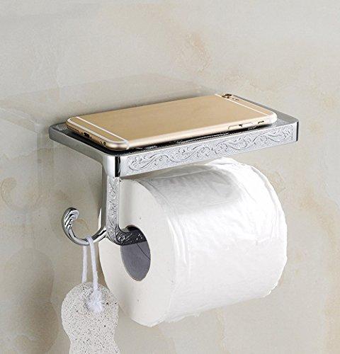 Antik Handy Papier Handtuchhalter, WC-Papier Box, Golden Handy Regal, WC-Papierrollenhalter a