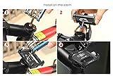 Letrino Universal Aluminum Lenker Handy Halter Smartphone Navi Halter für Rennrad MTB Scooter Roller