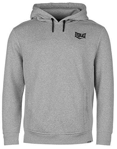 Everlast -  Felpa con cappuccio  - Uomo Grey Marl Medium
