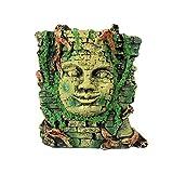 Générique Cachette Masque Maya Résine Décoration Terrarium Reptile Aménagement Paysager