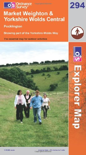 market-weighton-and-yorkshire-wolds-central-explorer-maps-os-explorer-map