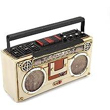 Retro Radio Grabadora de cinta modelo Coin Box (metal) hecho a mano