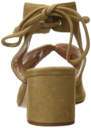 PEDRO MIRALLES Damen 19048 Sandalen mit Knöchelriemen Beige (Arena)