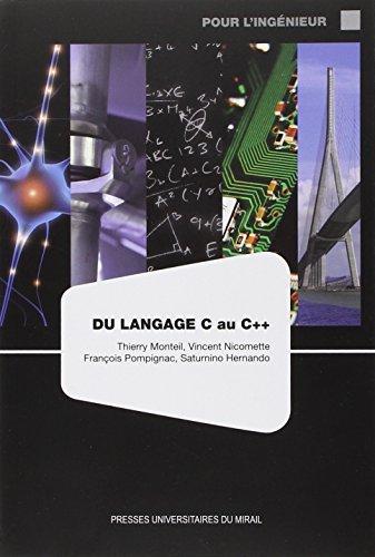 Du langage C au C++