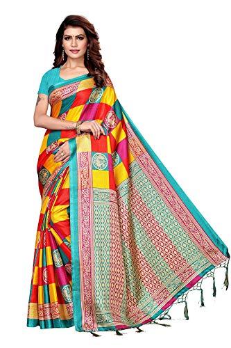 Peegli Saree Indischer Ethnischer Kalamkari Sari Traditioneller Blauer Saree Für Frauen