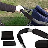 2pcs Baby Stroller Grip Cover Non-slip Mat Hand Handle Bar Covers, Buggy Bar Covers