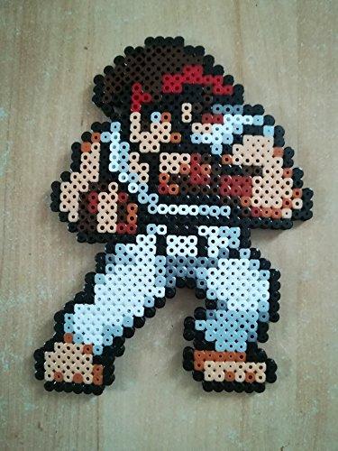 Pixel Art / Perler Beads Street Fighter Ryu
