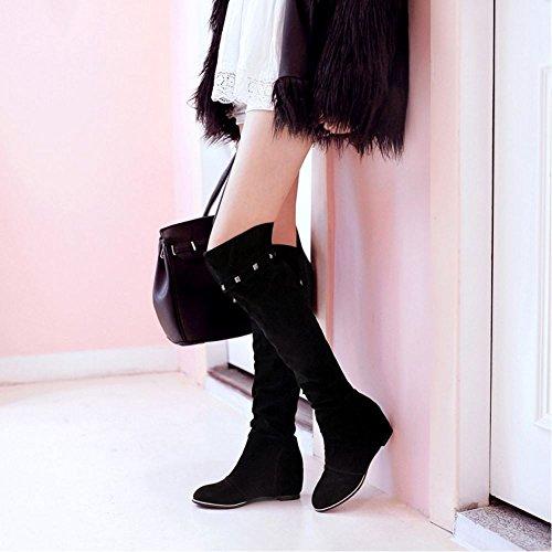 Donne Neri Aumentano Neri Taoffen Taoffen Stivali Stivali Donne Taoffen Stivali Aumentano Donne IgwO5
