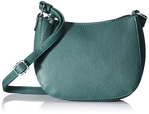 TOM TAILOR Umhängetasche Damen Effie, Grün (Petrol), 20.5x16x6.5 cm, TOM TAILOR Handtaschen, Taschen für Damen, klein