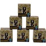 Minecraft Mini Vinyl Sammlerfigur Kinder und Erwachsene Spielzeug End Stone Series 6 Assorted - Set von sechs zufälligen Geheimnis Blind Box Packs Geschenk