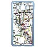 LAPINETTE COQUE-J5-2016-METRO - Funda para Samsung Galaxy J5, diseño de Metro Mapa