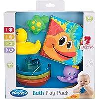 Playgro 40156 Badespielzeug Geschenkset 7 teilig, mehrfarbig