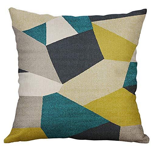 Aiserkly 40x40cm Unregelmäßiges geometrisches Muster Home Decor Dekokissen Kissenbezug Kissenhülle -