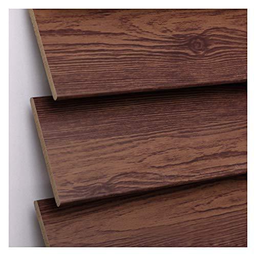 Liangjun tende alla veneziana protezione solare pvc tipo di rotolo liscio pulito conservazione nastro largo struttura in legno massello, 2 colori (color : b, size : 85x150cm)