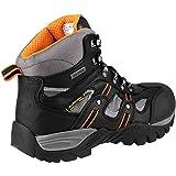 Amblers Steel - Calzado de protección de cuero para hombre negro negro 40.5, color negro, talla 40.5