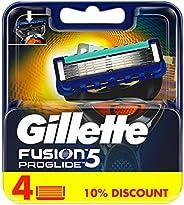 Gillette Fusion ProGlide Razor Blade Refill x4