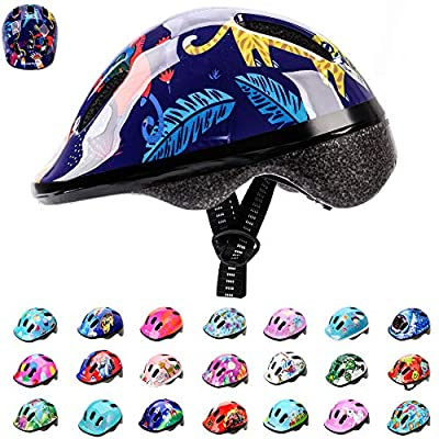 Meteor® Bike Bicycle Cycle Helmet MV6 -2 Children's Cycling Helmet: Helmet for Cycling, Inline Skate/BMX Bike/Scooter for Hover Board. Developed for the safety of the tiniest User: The Helmet Circuit Certificate – 89/686/EEC and has a continuously