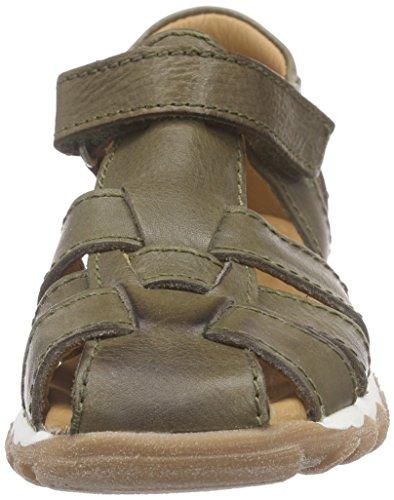 Bisgaard Sandals, Sandales fermées mixte enfant Grün (35 army)