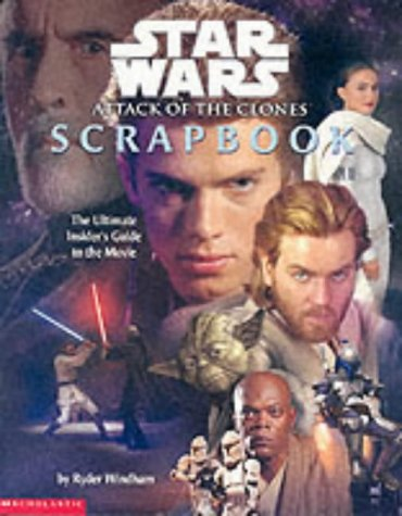 Star Wars, attack of the clones scrapbook