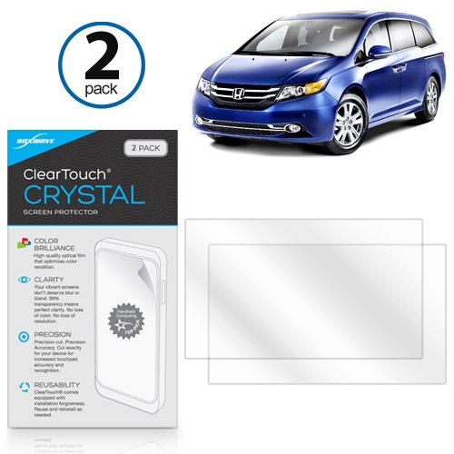 honda-2014-honda-odyssey-elite-front-display-panel-screen-protector-boxwaver-cleartouch-crystal-2-pa