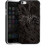Apple iPhone 6 Plus Hülle Silikon Case Schutz Cover GOT Game of Thrones Drache Wolf