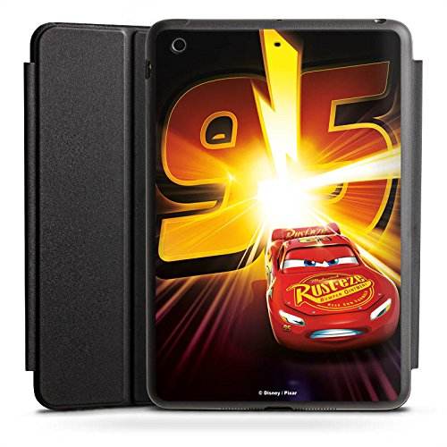 Apple iPad Mini Smart Case schwarz Hülle mit Ständer Schutzhülle Lightning McQueen 95 Disney Cars Disney Pixar