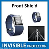 Fitbit Surge Fit Bit Watch Front INVISIBLE Screen Protector (Front Shield included) Military Grade Protection Exclusive to ACE CASE