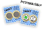 Carte à gratter personnalisable message au choix annonce originale grossesse ou événement (4 modèles)