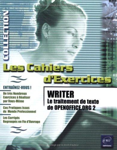 Writer - Le traitement de texte d'OpenOffice.org 2 par Myriam Gris