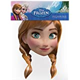 Official Disney Anna from Frozen Card Face Mask