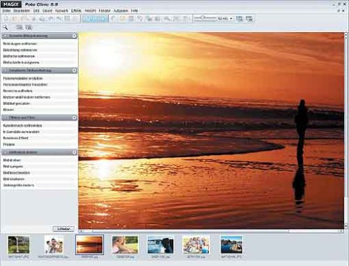 Ansicht vergrößern: MAGIX Digital Foto Maker 2007