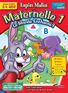 Lapin Malin Maternelle 1 : Le Monde enchanté de Lapin Malin ! + karaoké de Rémi