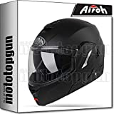 AIROH RE1911 CASCO MOTO MODULARE REV 19 COLOR NERO MATTO XXL