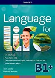 Language for life. B1. Student's book-Workbook. Con Lanrev, Hub, 16 eread, 1 test. Per le Scuole superiori. Con ebook. Con espansione online.  [Lingua inglese]