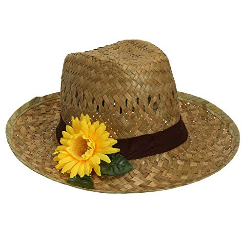 PARTY DISCOUNT® Hut Farmer mit Sonnenblume