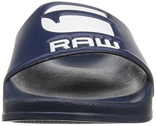 G-STAR RAW Herren Cart Slide Offene Sandalen Blau (Blue)