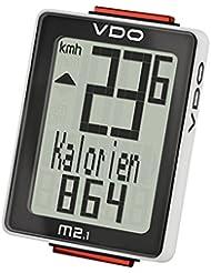 Analoger-Funk-Fahrradcomputer Biketacho VDO M2.1WL