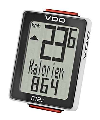Wetterladen Analoger-Funk-Fahrradcomputer Biketacho VDO M2.1WL (Vdo-fahrradcomputer)
