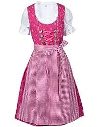 Ramona Lippert Kinderdirndl Fee pink Dirndl 3-teilig