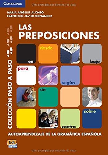 Las preposiciones (Paso a Paso) por María Luisa Coronado González