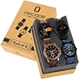 #9: Decode Combo of 4 infinity 7800 Multicolor Dial Men's and Boys Watches