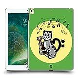 Head Case Designs F-Schlüssel Meow-Sical Symbole Ruckseite Hülle für iPad Pro 12.9 (2017)