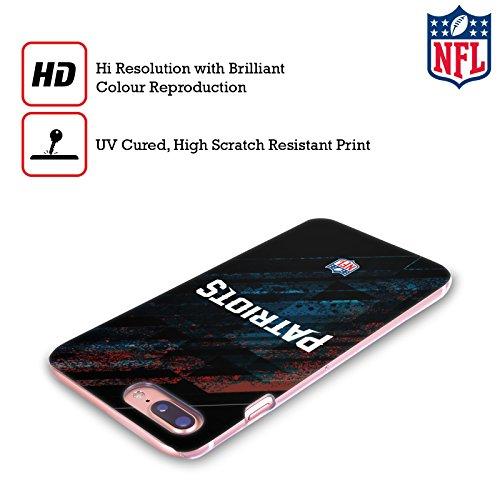 Offizielle NFL Fussball New England Patriots Logo Ruckseite Hülle für Apple iPhone 6 / 6s Unschärfe