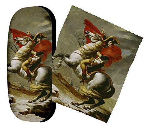 Preisvergleich Produktbild Set Brillenetui und Brillenputztuch Napoleon von Artis Vivendi