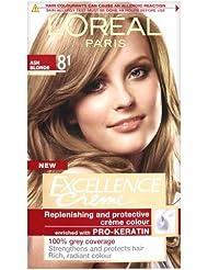 L'Oreal Excellence Creme Natural Ash Blonde 8.1