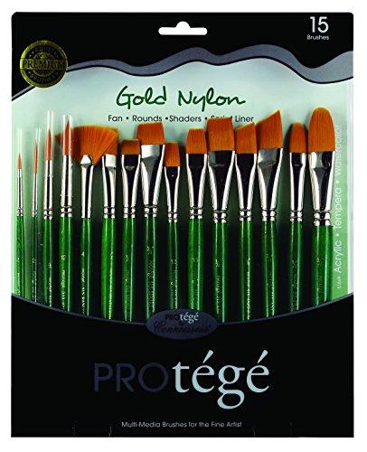 Connoisseur Fine Art Products Set #7 Round White Nylong Watercolor Travel Brush Nylon