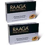 Raaga Professional platinium Facial Kit pack of 2