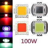 Pegasus 100W DC32-36V High Power LED Chip-Licht-Lampe Blau / Grün / Rot / Gelb Startseite Auto für DIY