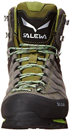 Salewa Rapace, Chaussures de Randonnée Hautes homme Gris (Pewter/Emerald 4052)