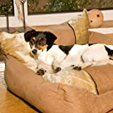 Hundesessel 70x64x26cm Soft Line Hundesofa Hundebett Der Bodenstoff besitzt Anti-Rutsch-Noppen Waschbar mbei 30 Grad erhöhte Rückenlehne schützt dabei die Tapete vor Verschmutzung Weiche Mircafaser